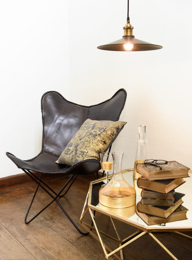 Leren stoel Wants&Needs