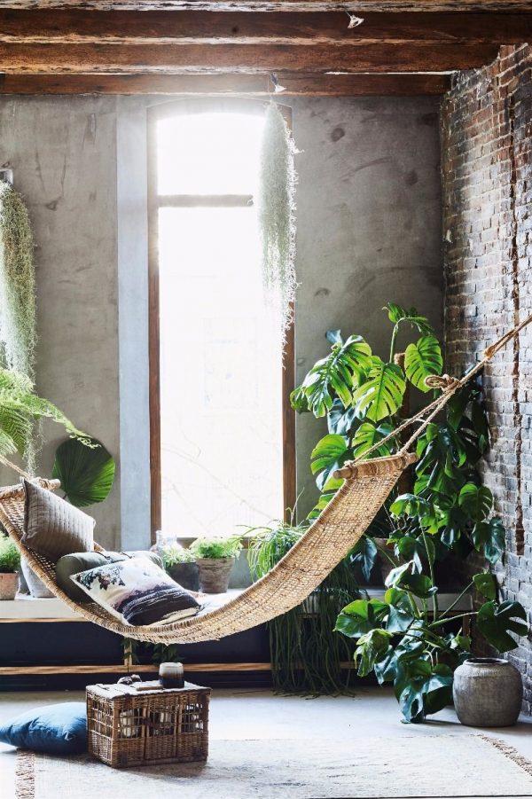 Hangmat Rotan Naturel HK living