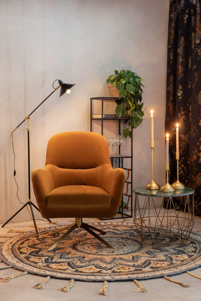 Fauteuil Robusto Whiskey Dutchbone