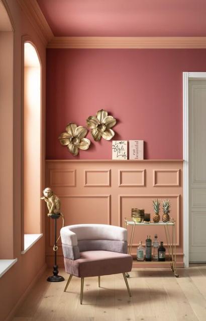Kleurenpallet roze Kare Design