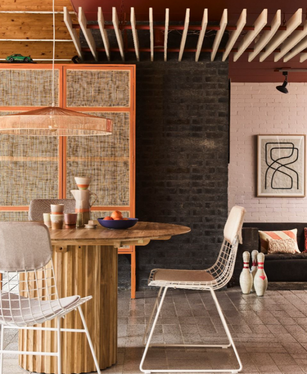Opbergkast retro oranje by HKLiving | Wants&Needs