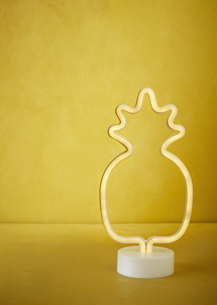 Tafelllamp Ananas Neon by Madam Stoltz │ Wants&Needs