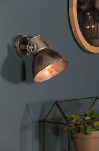 Wandlamp Elay vintage zilver by Light&Living | Wants&Needs