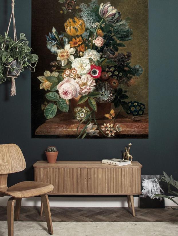 Behangpaneel Golden Age Flowers by KEK Amsterdam | Wants&Needs