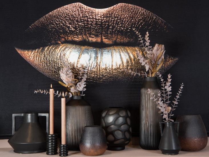Wanddoek Glamour Kiss Velvet Wants&Needs