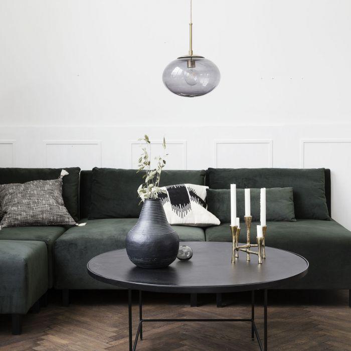 Hanglamp opal grijs van House Doctor