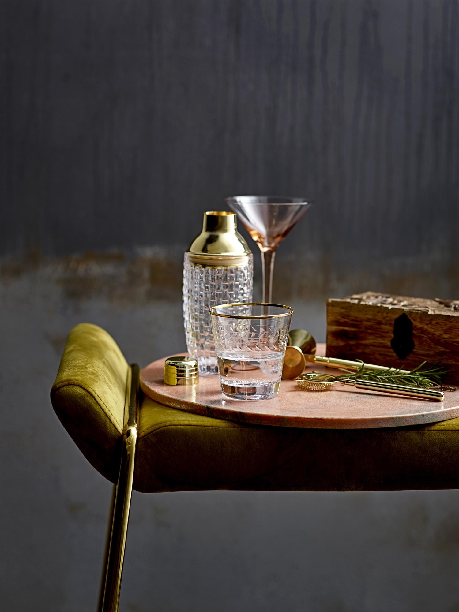 Cocktail Liga Glas Roze Bloomingville