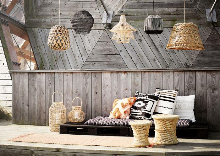 Bamboo Hanglamp Naturel Madam Stoltz