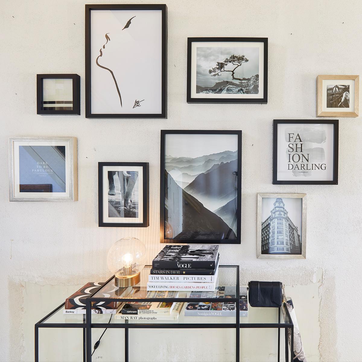 Tiles schilderij | Eigen gemaakte gallery wall