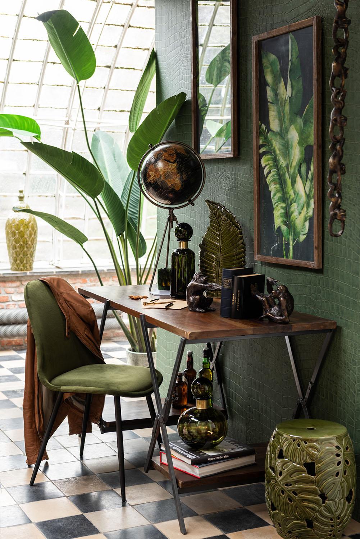 Groen Clair eetkamerstoel | Krachtige ton sur ton