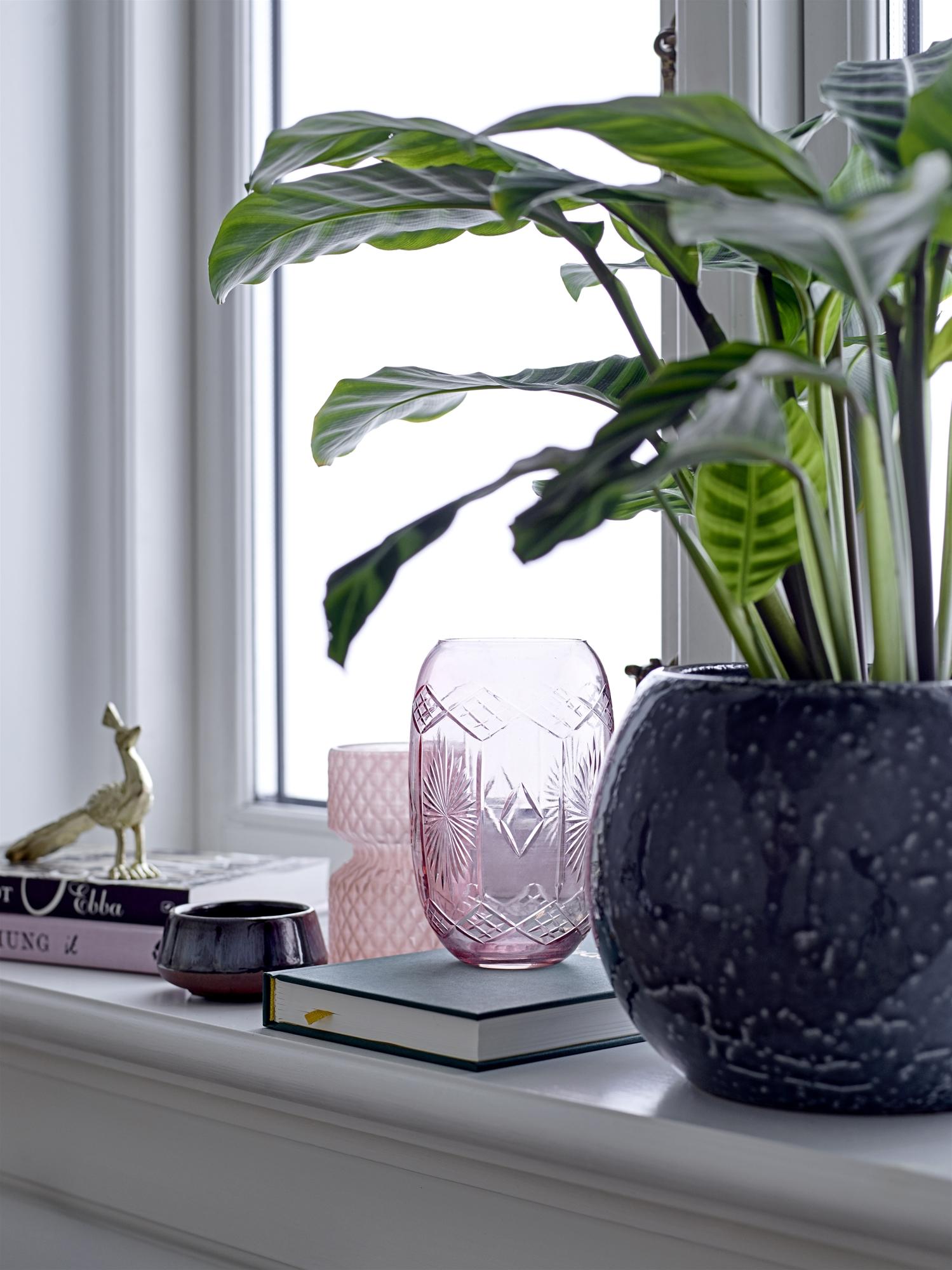 Vaas Nuru Roze glas Bloomingville | Voorjaarstrends