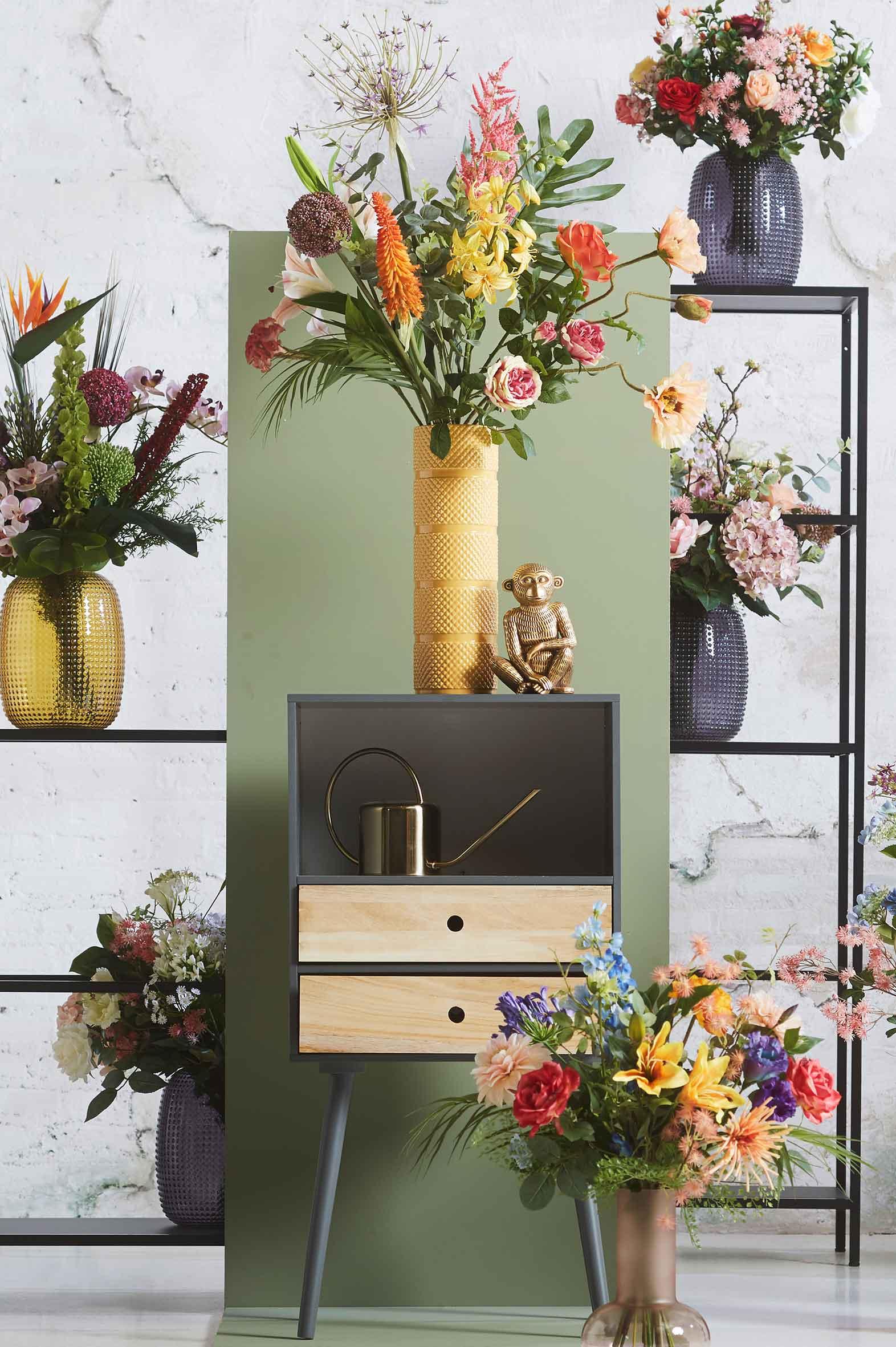 Kunstbloem Boeket Colourful Rebel Wants&Needs Plants