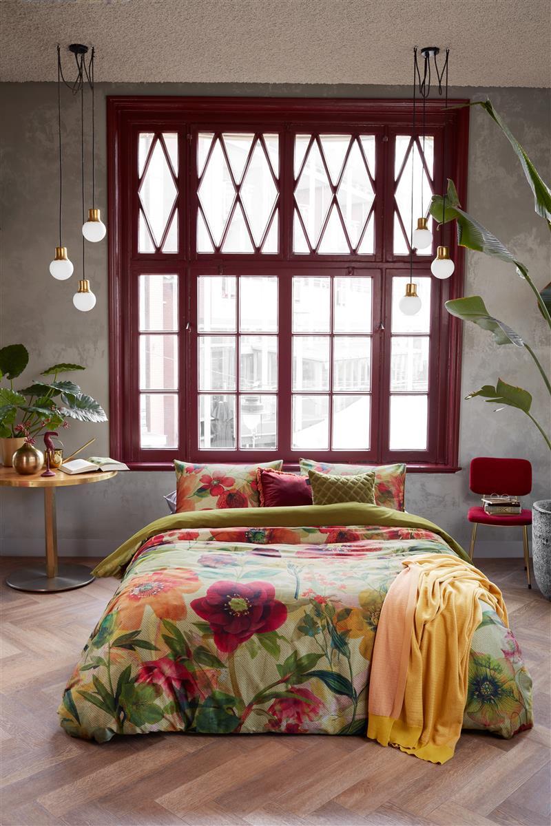 Dekbedovertrek Hellebore Multi Beddinghouse | Frisse geur
