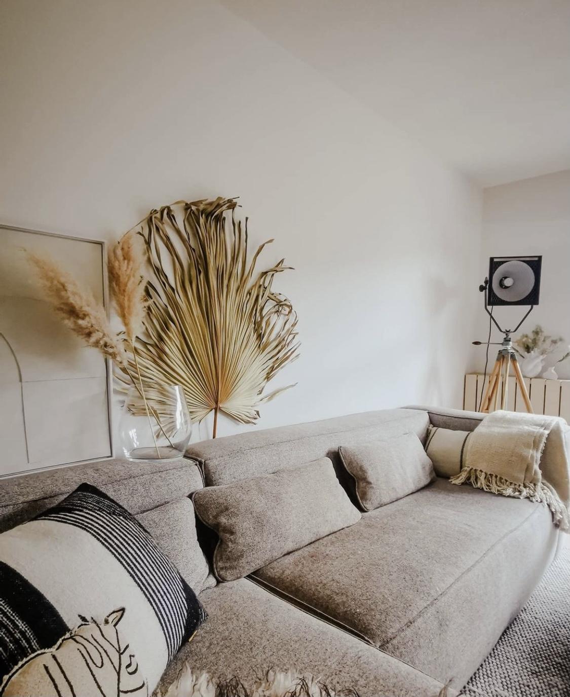 Wanddecoratie Palm waaier Madam Stoltz