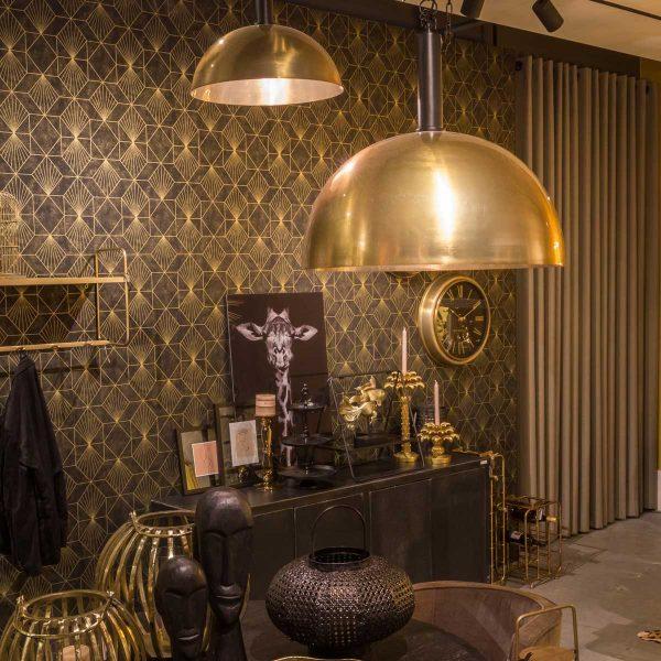 Goud Blair hanglamp | Sterrenbeeld
