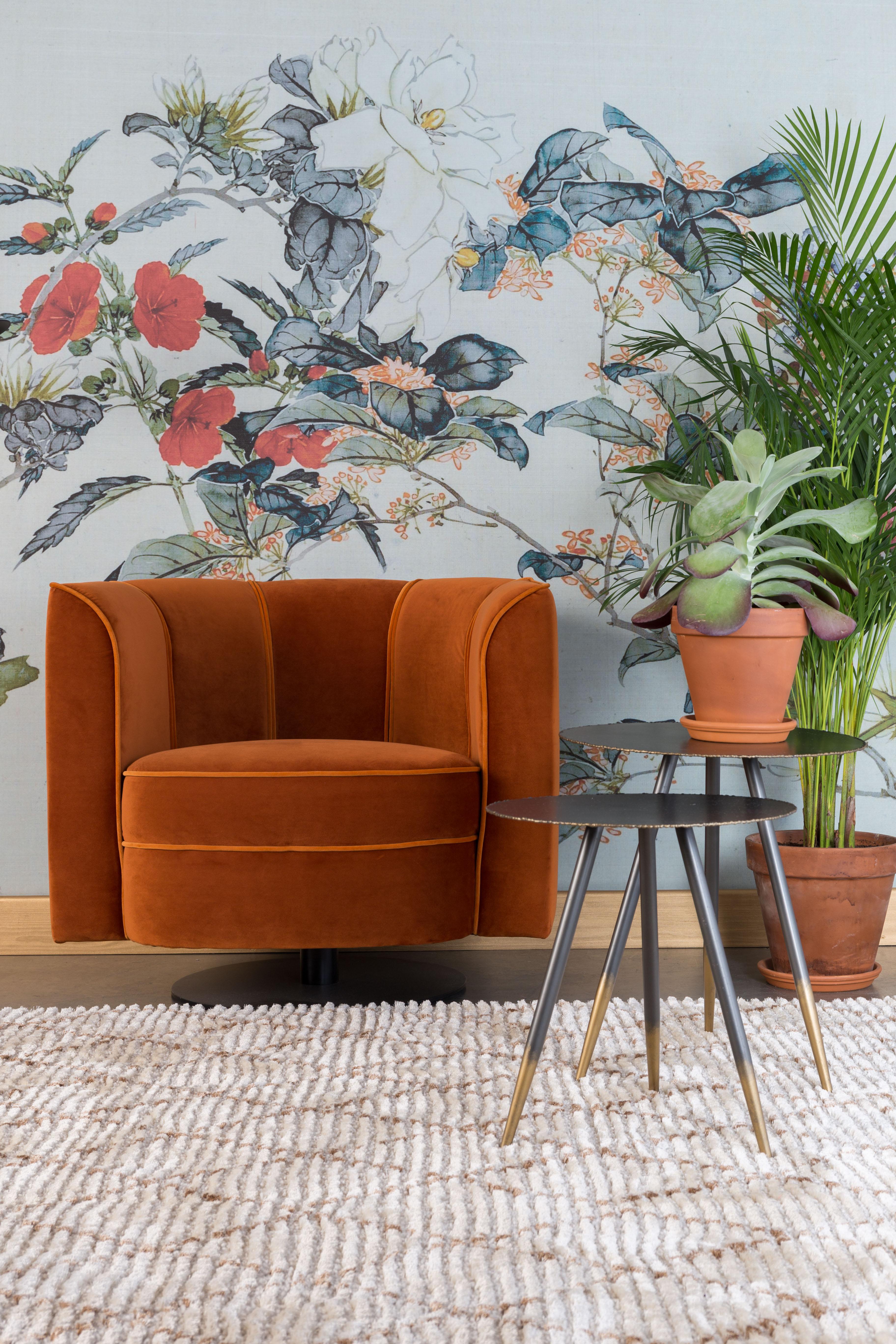 Fauteuil Flower Orange Dutchbone