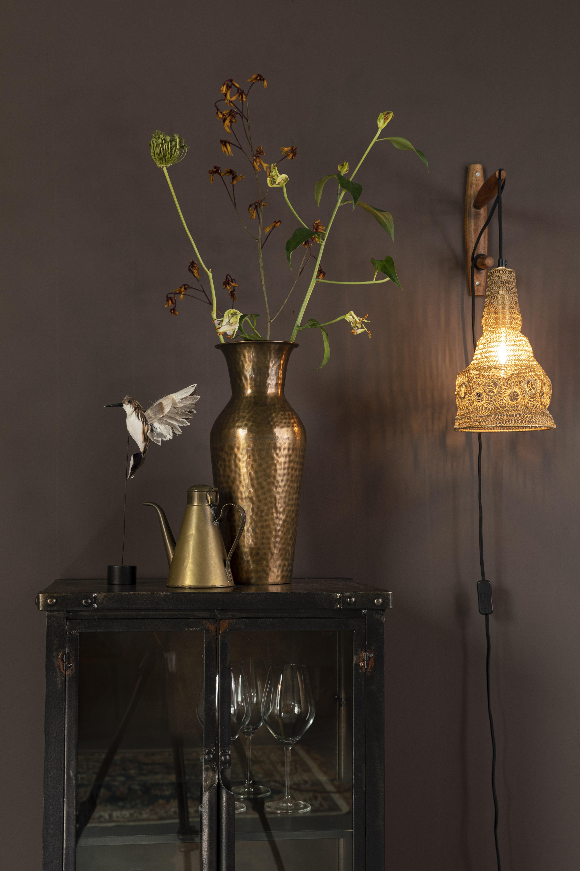 Vaas Dunja Brass L 56 x 20 x 20 Wants&Needs Furniture