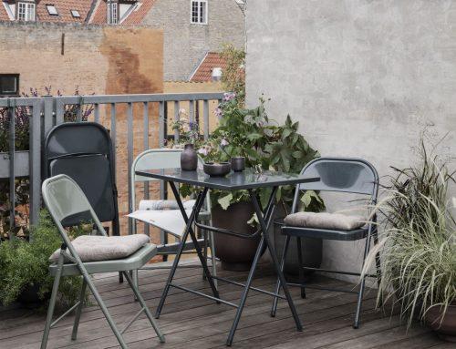 Tips voor het stylen van een klein balkon!